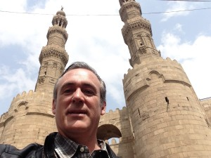 Andrew at Bab Zuwaila