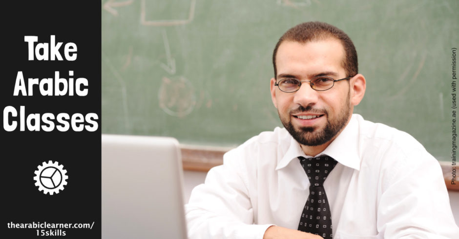 Take Arabic classes
